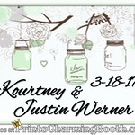 3-18-17 Kourtney and Justin Werner Wedding logo
